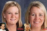 Age-progressed images of Kimberly Yates (left) and sister Kelly (right) who were found in Houston. Photo / The National Center for Missing and Exploited Children