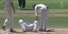Watch: Watch: Bangladesh batsman Mushfiqur Rahim stretchered from field after head blow