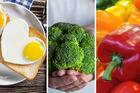 Eggs, brocolli and capsicum are among the foods that we should all be eating if we want to get rid of our cellulite. Photos / 123RF.com