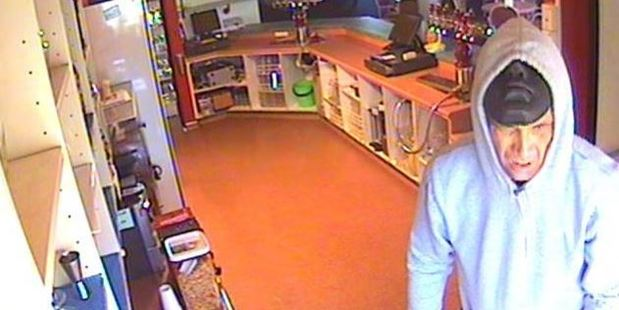 SUSPECT: Police are seeking this man, after the Shirley St Albans Club was burgled and set alight.