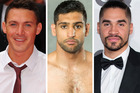 Kirk Norcross, Amir Khan and Louis Smith are just a few embroiled in the sex tape scandal. Photos / Getty Images