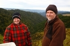 Hans and Michelle Brink at the Mangaporau Farm on Watershed Road.  Friday, July 21, 2017 Wanganui Chronicle photograph by Bevan Conley.