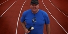 Watch: Joe Fallen half marathon blind runner