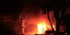 Watch: Transformer bursts into flames