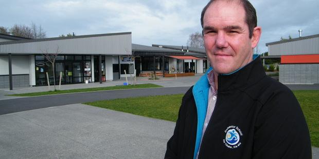 Marcus Freke, principal of the new Endeavour School. Photo / Geoff Lewis