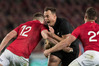 Hawke's Bay's Israel Dagg in action for the All Blacks against the Lions during the third test in Auckland. Photo/File