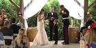Watch: Soldier's son cries during wedding vows