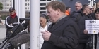 Watch: Disability activist Robert Martin speaks at rally