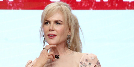 Actor Nicole Kidman of 'Top of the Lake: China Girl' speaks onstage, 2017. Photo / Getty