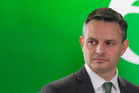 Green co-leader James Shaw says he is likely to remain in sole charge of the party until the AGM next year. Photo / Mark Mitchell