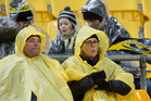 Freezing, wet conditions in night games are taking their toll on Super Rugby fans in New Zealand. Photo/NZME