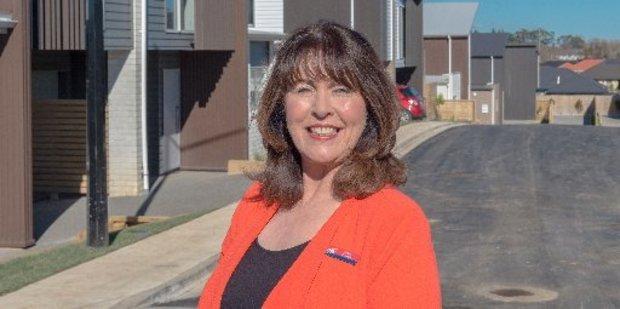 Lodge Real Estate agent Cathy O'Shea. Photo/ Supplied