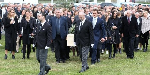 Paul Renton has been farewelled at the Hawke's Bay A&P Showgrounds.