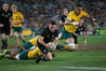All Blacks centre Ryan Crotty scores in Sydney. Photo / Brett Phibbs