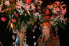 Linda Barnett says she has felt the pressure in putting together her floral extravaganza, causing some restless nights.