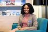 Community Finance initiative caseworker Chika Adeosun. Photo/George Novak