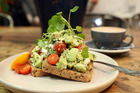 The smashed avocado on toast at Browns Eatery. Photo / Getty Images