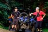The Rotorua Mountain Bike Club's 1st Response Unit is making it safer in the forest. Photo/Nick Lambert, Zero Seven
