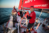 Blair Tuke and Mapfre have taken out the Leg Zero series in their preparations for the Volvo Ocean Race. PHOTO/PHOTOSPORT.NZ