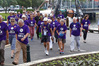 Some of the participants in last year's Memory Walk for Alzheimer's on the Hatea Loop in Whangarei.