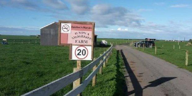 Eastlock Farm Manaia has gone smokefree.