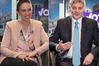 Fronting up to a panel for the NZ Herald's Job Interview, Jacinda Ardern and Bill English were  grilled on why they wanted the job of Prime Minister and what they could offer. Photos / Michael Craig and Doug Sherring