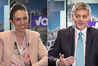 Bill English (right) is a fan of the television show Suits and knows the price of milk. Jacinda Ardern (left) prefers dark crime dramas and spends less on a dinner out.
