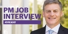 Watch: LIVE: PM Job Interview with Bill English