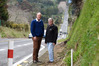 Bay of Plenty's MP Todd Muller (left) and Western Bay Mayor Garry Webber are relieved that the dangerous highway from Tauranga to Katikati will be four laned. Photo/George Novak