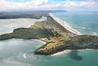Search focused on the coastline north of Matakana Island, including Bowentown. Photo/File