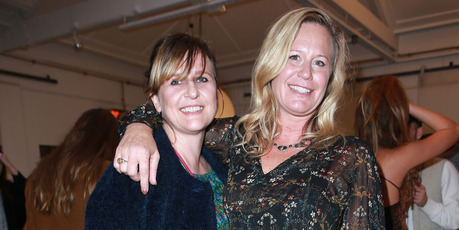 Designers Tanya Carlson (left) and Kari Topcand are part of the lineup for Fashion Week. Photo / Norrie Montgomery
