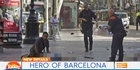 Watch: Man tells how he cradled dying child after Barcelona attack