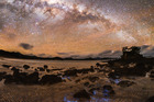 The pristine night skies above Great Barrier Island in the Hauraki Gulf are now an international dark-sky sanctuary. Photo / Mark Russell