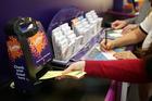 Lotto Powerball jackpots to $15 million. Photo/Michael Bradley
