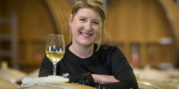 Trinity Hill employee Sara Addis triumphed in the North Island final of the 2017 Tonnellerie de Mercurey NZ Young Winemaker of the Year. Photo/Warren Buckland