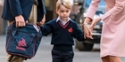 Watch: Watch: Prince George's first day of school