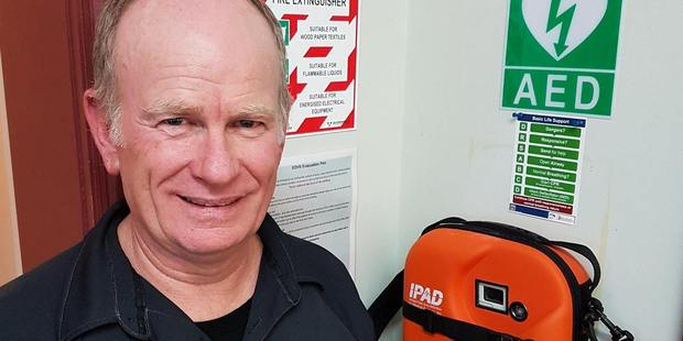Eltham Vet Services have made a point to keep a defibrillator around.