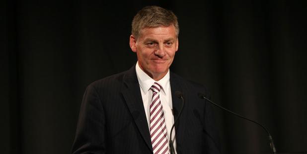Prime Minister Bill English spoke to Jamie Mackay today. Photo / Doug Sherring