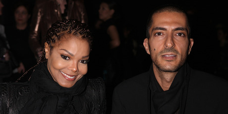 Janet Jackson and Wissam al Mana in 2013. Photo / Getty