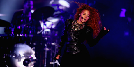 Janet Jackson performs after the Dubai World Cup at the Meydan Racecourse on March 26, 2016. Photo / Getty
