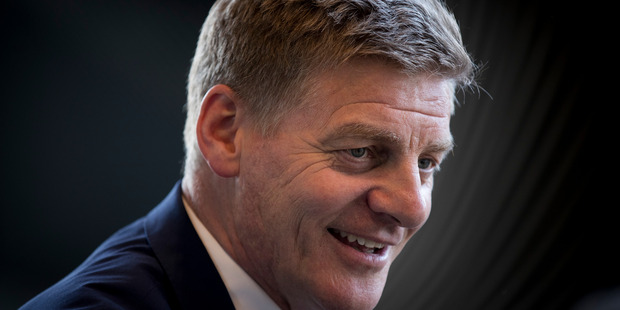Loading Bill English says allowing hard-working farmers the chance to buy their land will be a big opportunity in some parts of the country. Photo / Dean Purcell