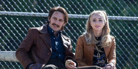 James Franco and Zoe Kazan in The Deuce.