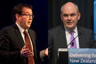 Grant Robertson and Steven Joyce face the tough questions from top business leaders.