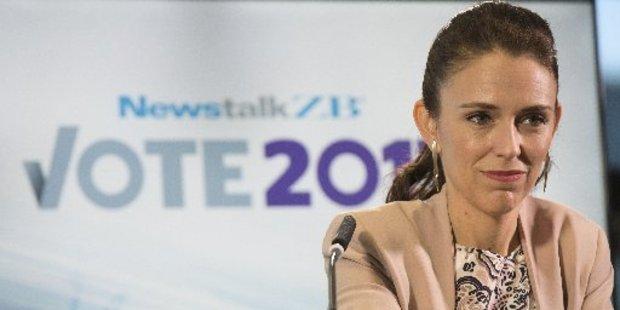 Labour party leader Jacinda Ardern