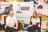 Bay of Plenty/ Waikato Business Expo organisers Barry Brown and Sharon Giblett. Photo/supplied.