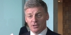 Watch: Bill English defends tone of National's campaign