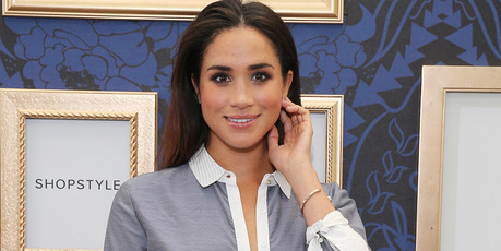 Model Meghan Markle attends an exclusive preview of the Marchesa Voyage for ShopStyle collection on September 5, 2014 in New York City.Photo / Getty