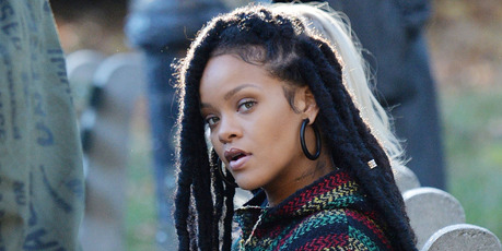 Rihanna on the set of 'Ocean's Eight' filming in Central Park on November 07, 2016 in New York, New York. Photo / Getty