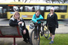 Bay of Plenty Times reporters Samantha Motion, Kiri Gillespie and Zoe Hunter ditched their cars in favour of bussing, biking and running. Photo/John Borren