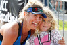 Ady McKenzie, with daughter Charli, took out the women's division of the ACC Whangarei Half-Marathon. PHOTO/TANIA WHYTE